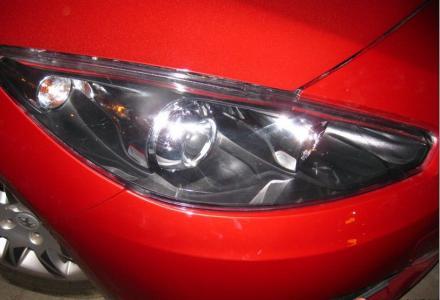 东风标志308升级改灯13317830918双光透镜氙气大灯