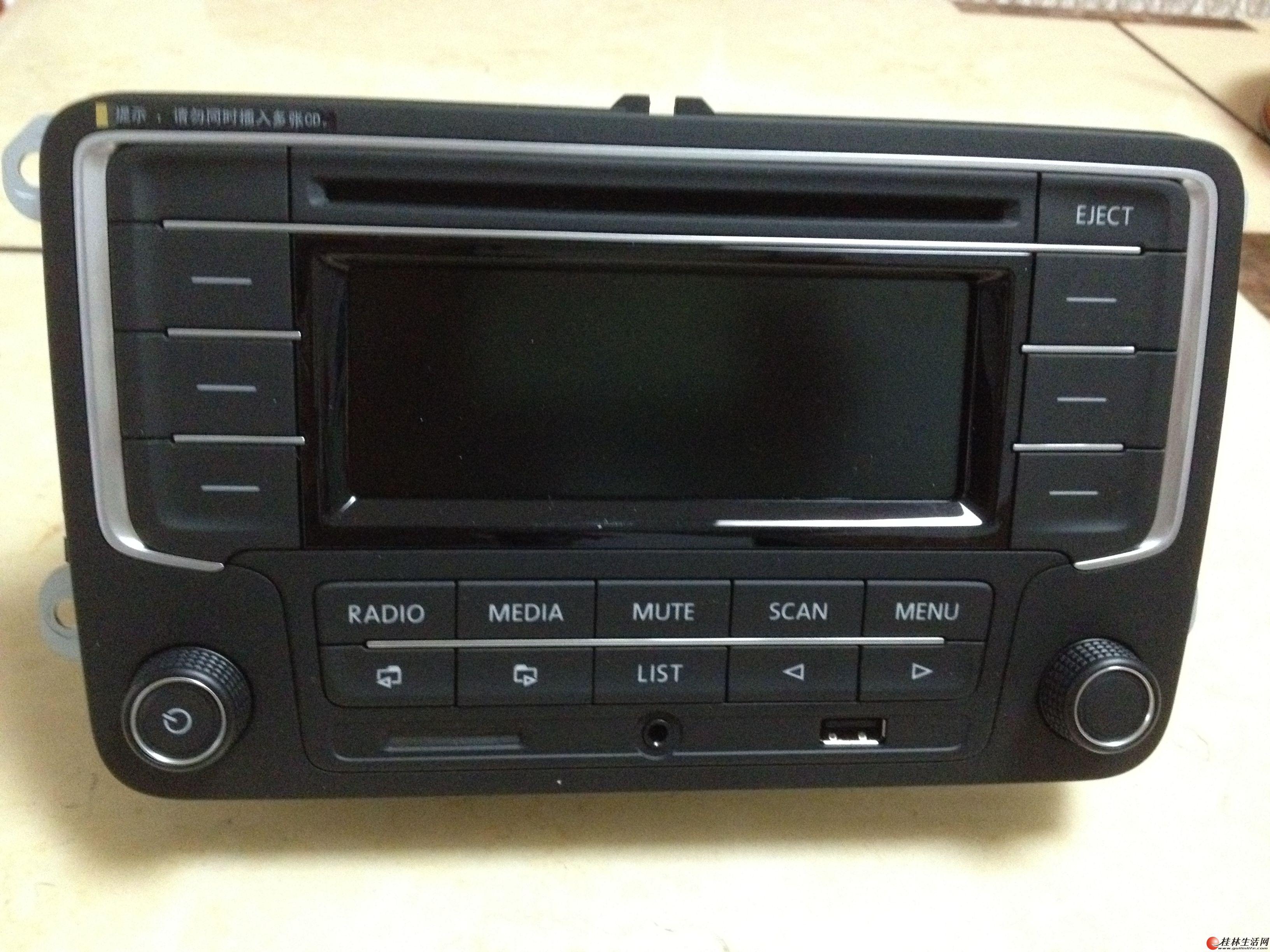 新超值原装大众汽车CD mp3收放机 加入收藏高清图片