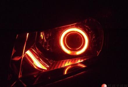 桂林爱驹专业汽车照明 飞利浦广西区认定店科鲁兹改灯天使眼双光透镜氙气大灯