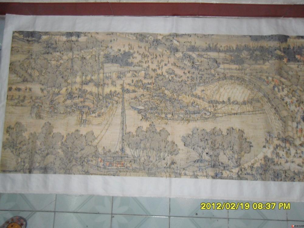 十字繡桂林山水圖紙分享展示