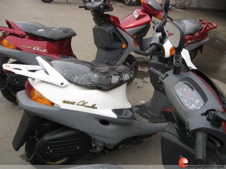春兰cl-150t水冷踏板车 - 桂林摩托车信息 桂林二手车