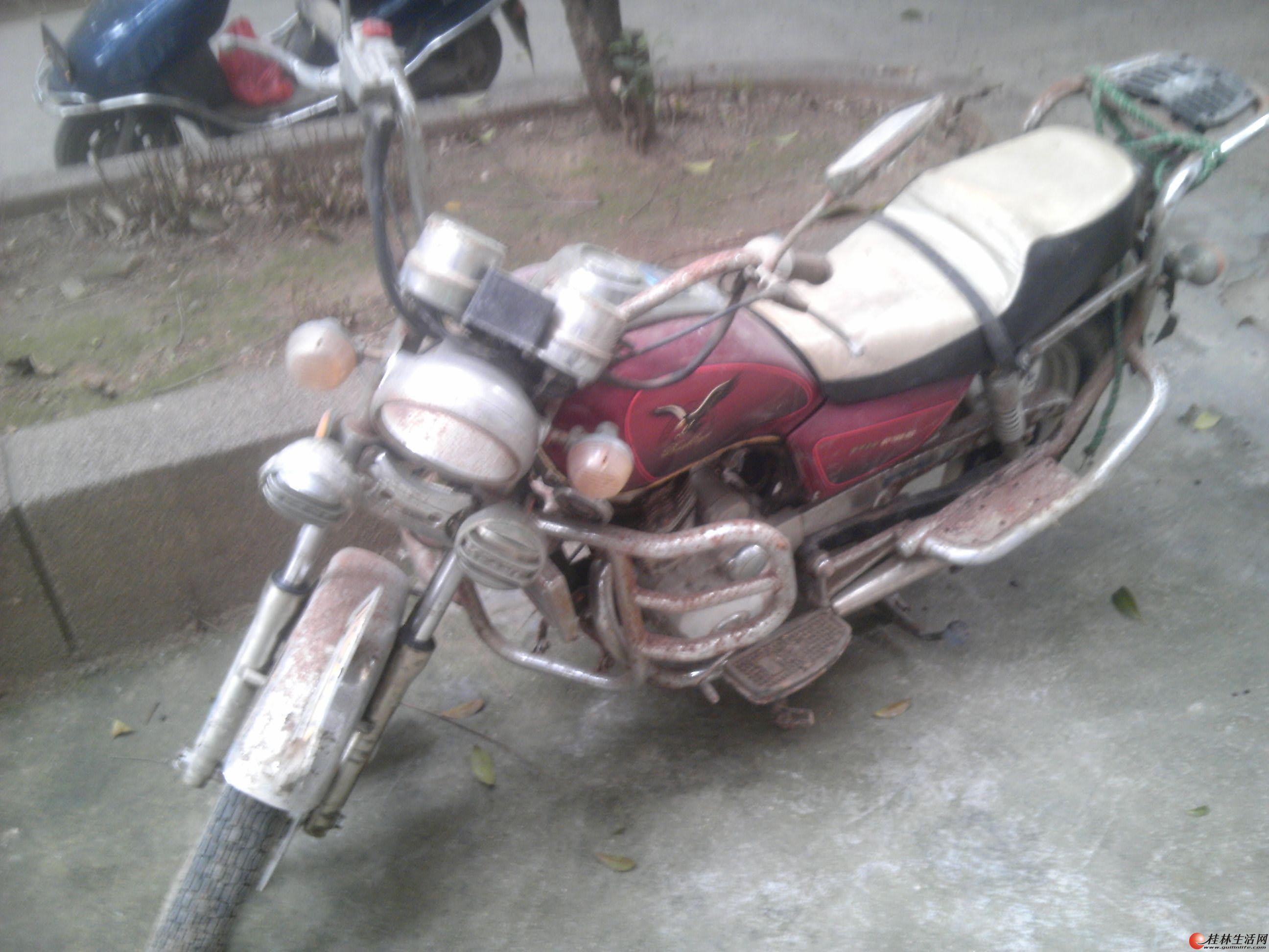 卖证件齐全个人闲置太子款男士摩托车