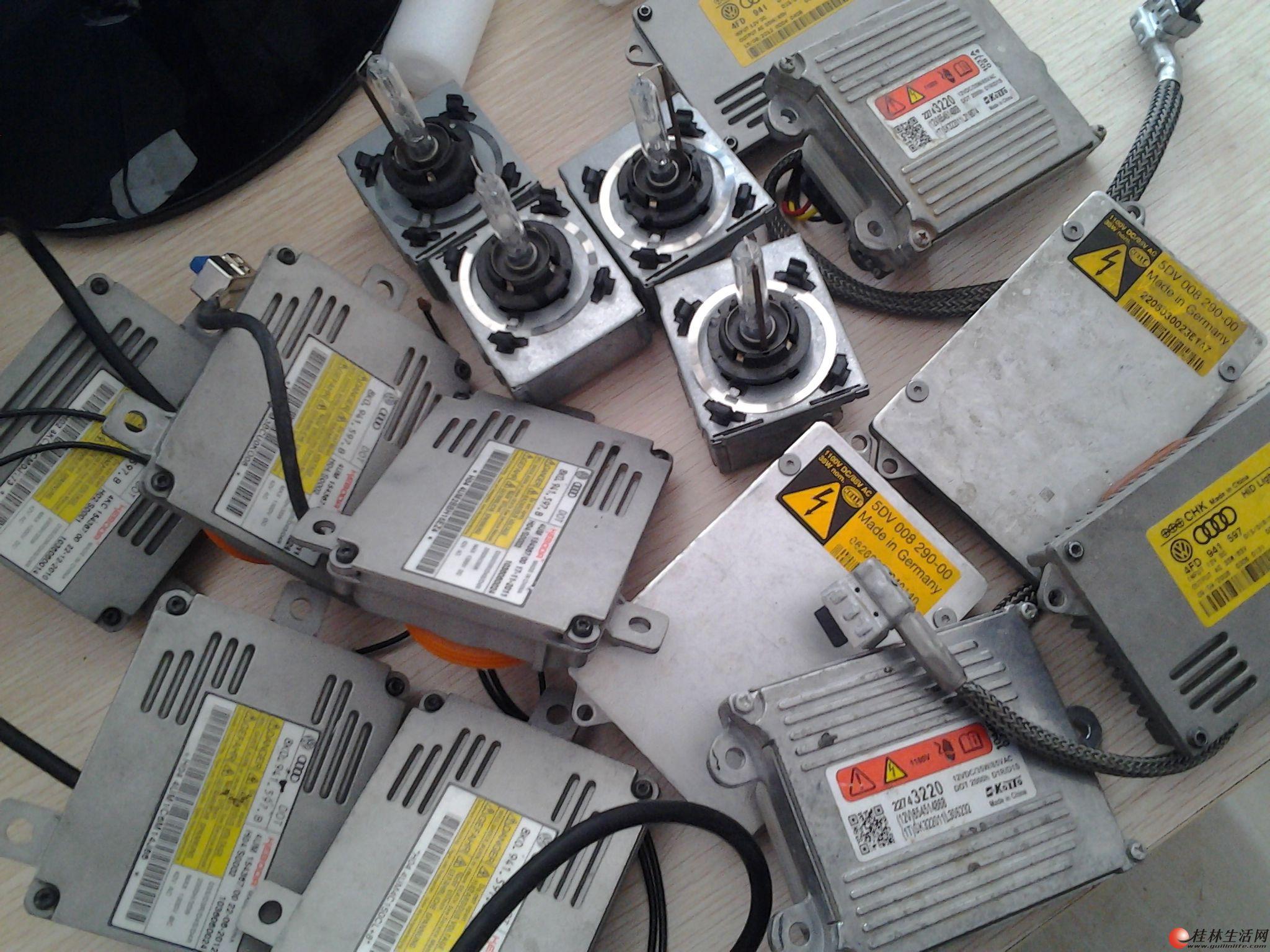 奥迪原装安定器,灯泡,海拉三双光透镜,q5透镜