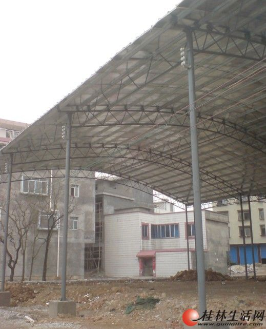 专业搭建钢结构厂房,铁架焊接