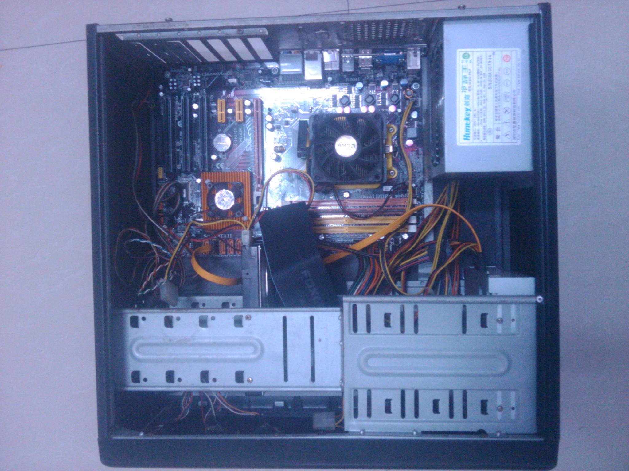 台式电脑主机箱接线图 图片合集