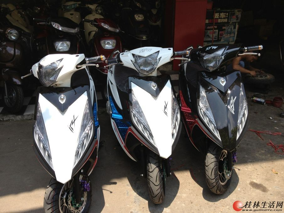 鬼火3代摩托车图片