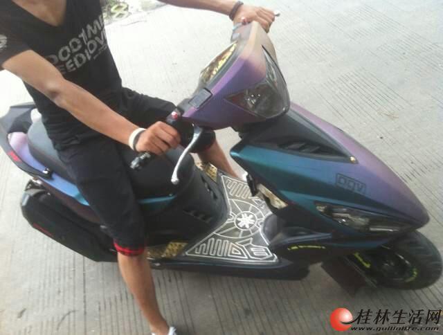 鬼火摩托车图片