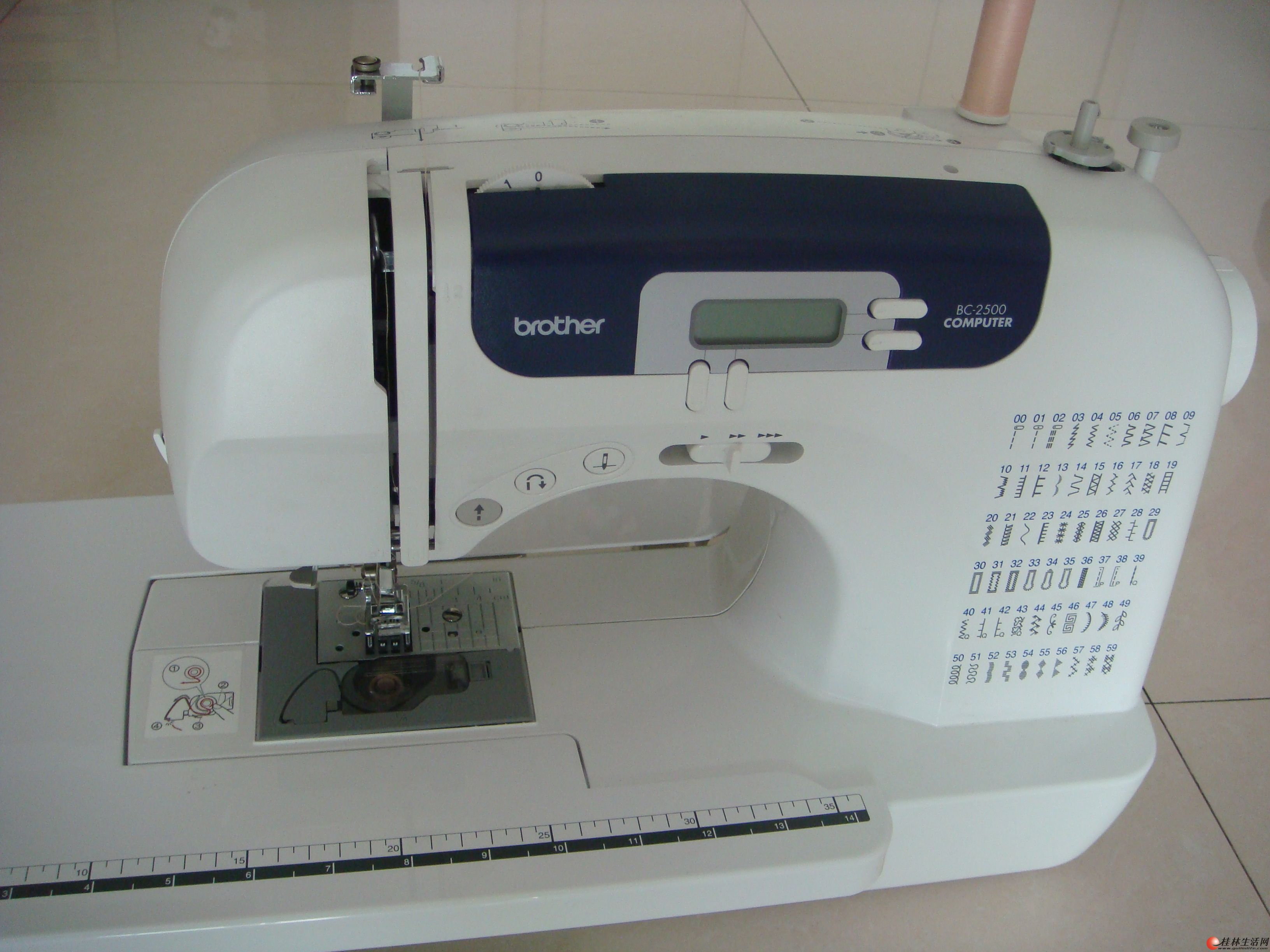 ...缝纫机.兄弟brother家用电动缝纫机xl.兄弟牌缝纫机官方旗舰...