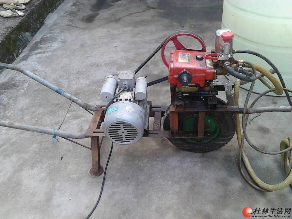 柴油机三轮车启动电机接线图