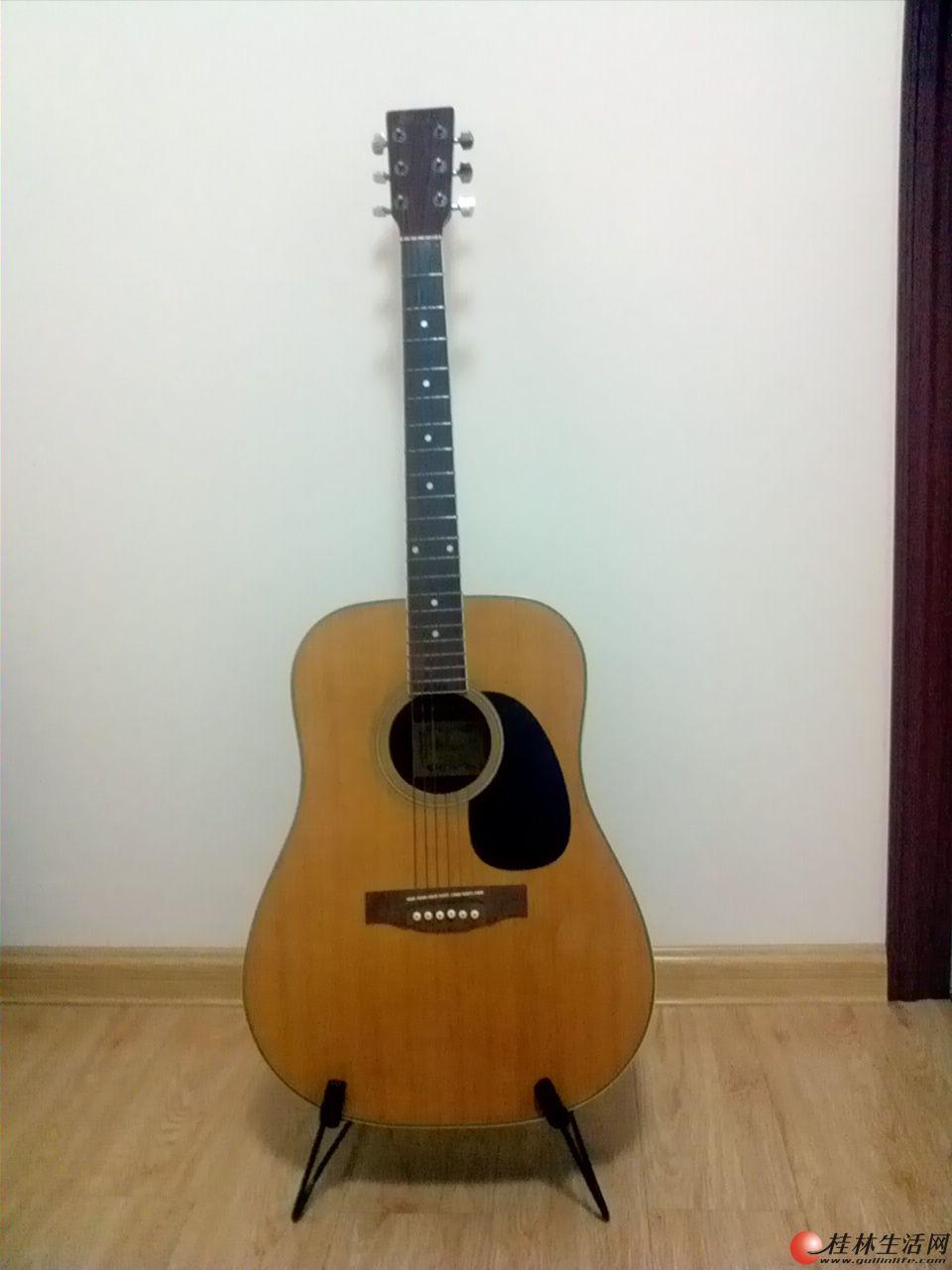 41寸民谣吉他5折出售