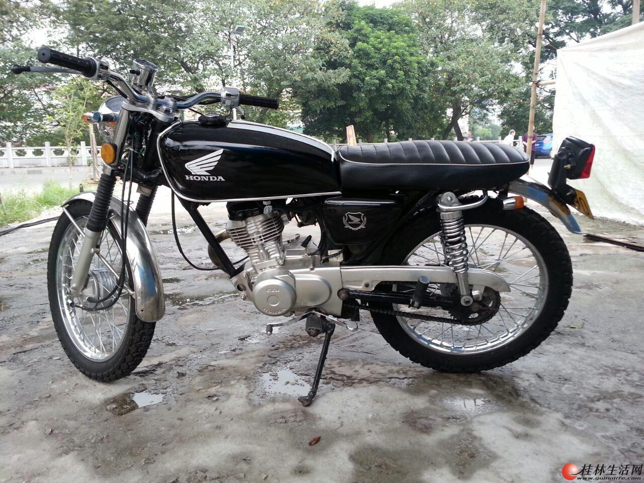 出售复古原装本田cg125
