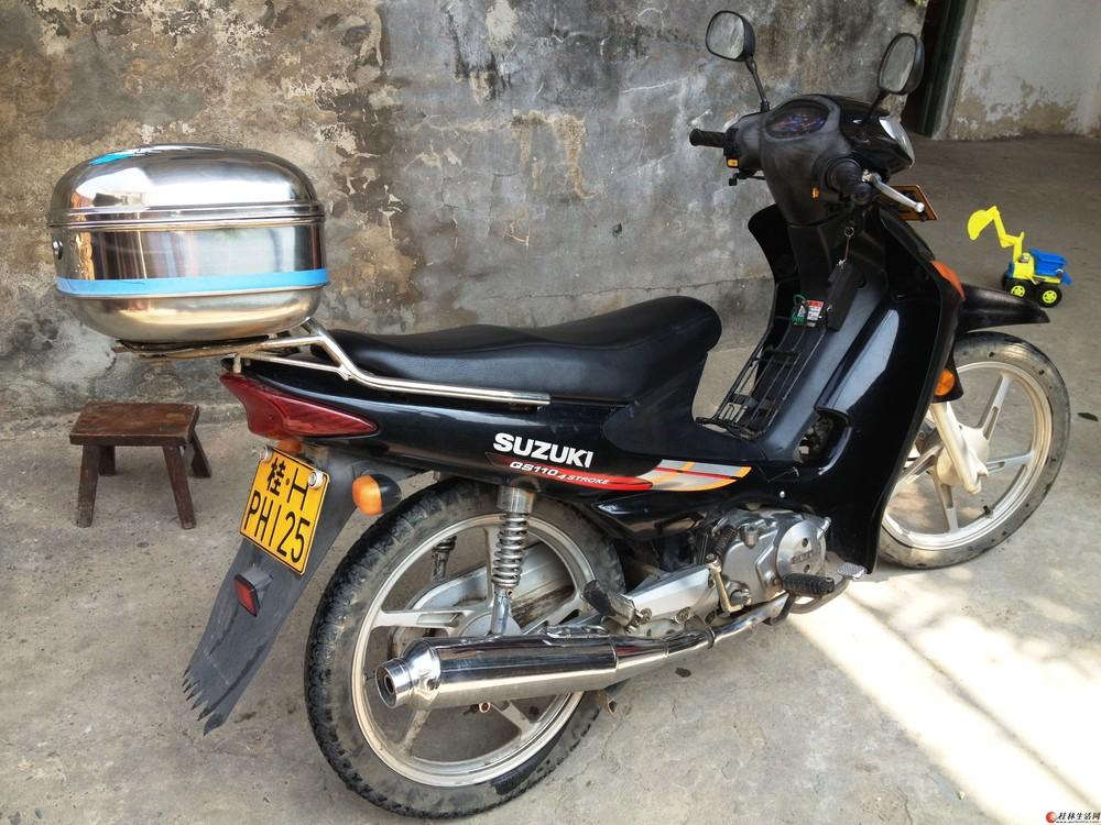 大连地区买铃木弯梁110(赛驰)摩托车需要多少钱?