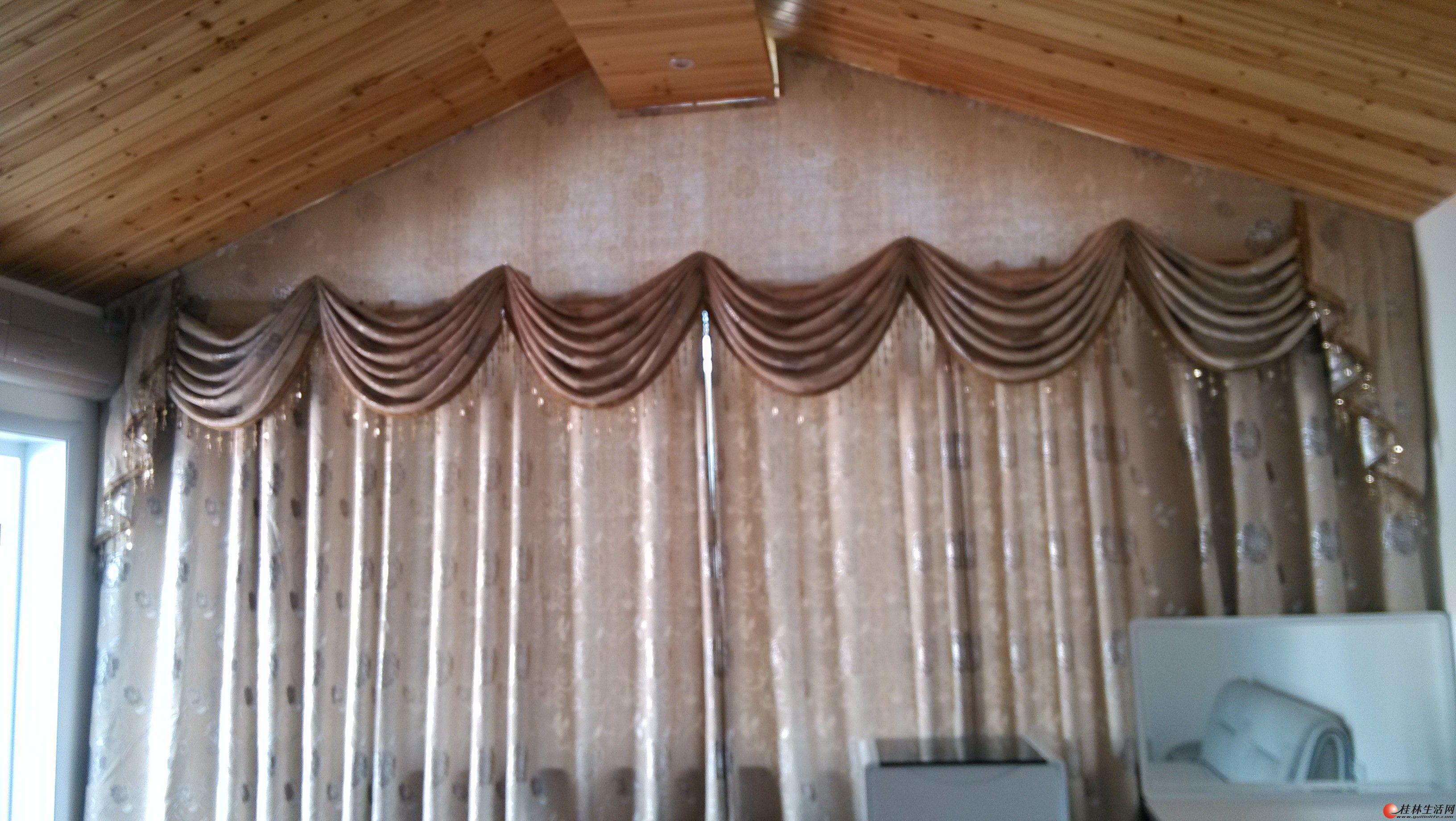 窗帘/最便宜窗帘/客厅卧室窗帘/欧式田园成品窗帘