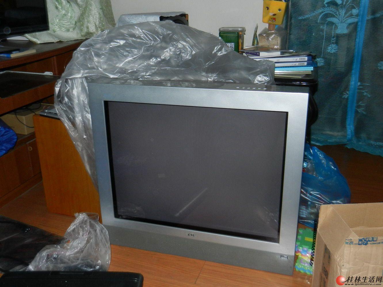tcl29寸 台式电视机 外观新效果好