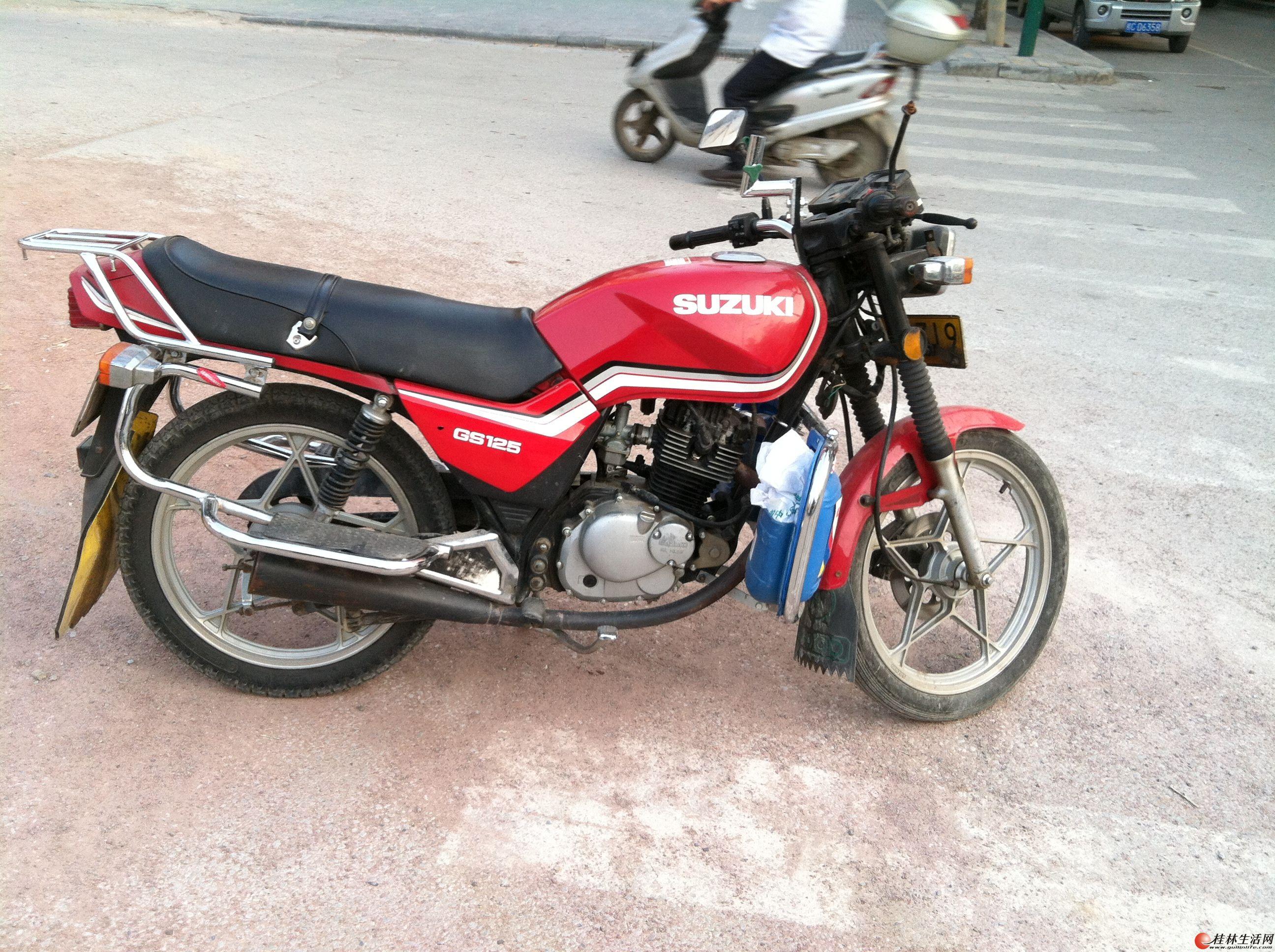 铃木摩托车_好几圈铃木踏板摩托车 哪个品牌的踏板摩托车故障率最低、质量 ...