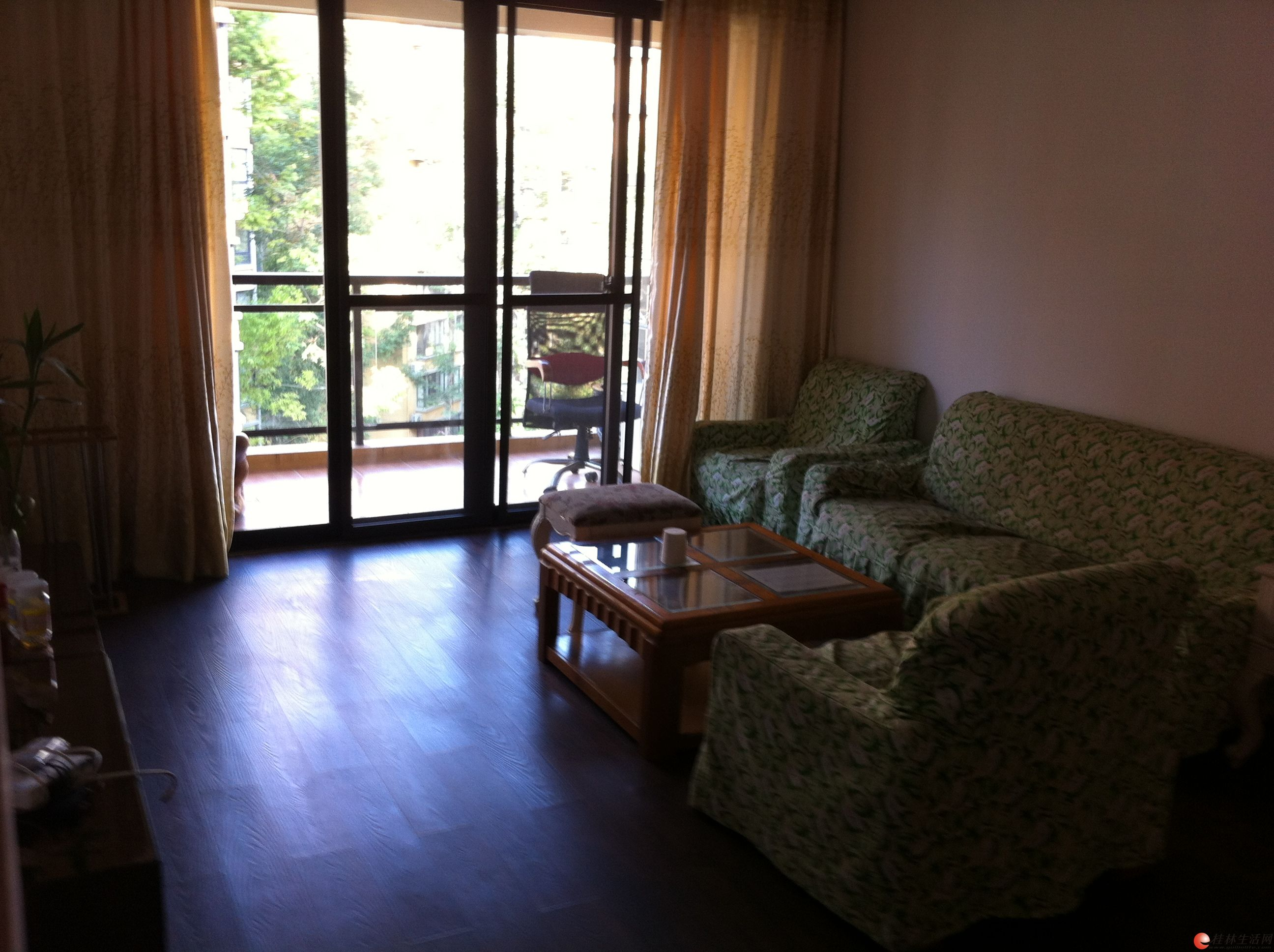 S象山区 彰泰鸣翠新城两房两厅精装花园小区 安全舒服入住!