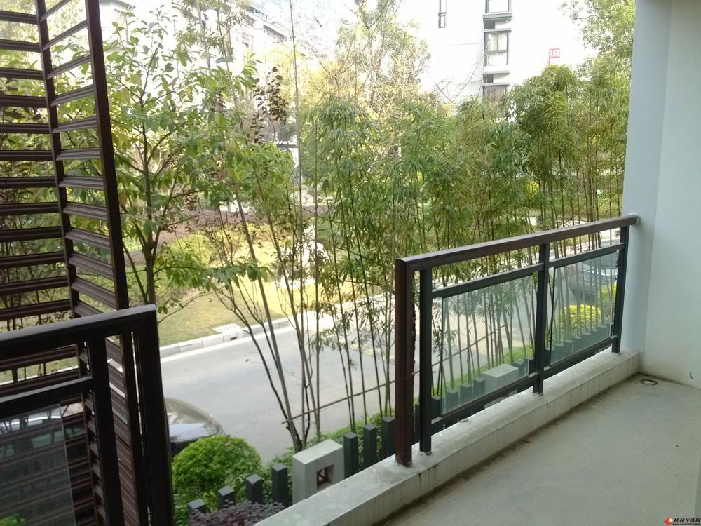 公园里的家!送车位!七星区 彰泰第六园 230平米+花园 200万 4房2厅
