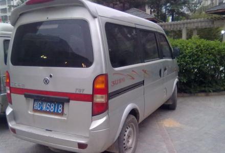本人自用的东风小康K07面包车,用得少,有空调