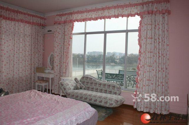 叠彩区 春江苑 一线江景别墅 豪装7室3厅2卫 320平米 仅租7000每月