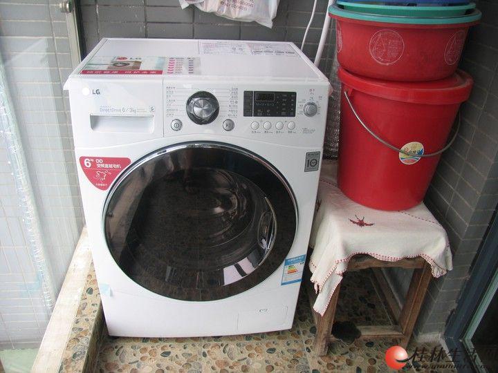 lg wd-c12340d多功能滚筒dd变频洗衣机