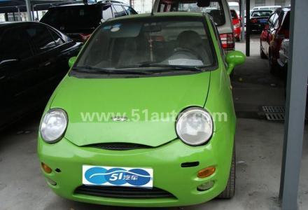 超省油  09年奇瑞QQ0.8便宜转让,绿色,空调,中控锁,车载DVD及显示屏,车子非常省油