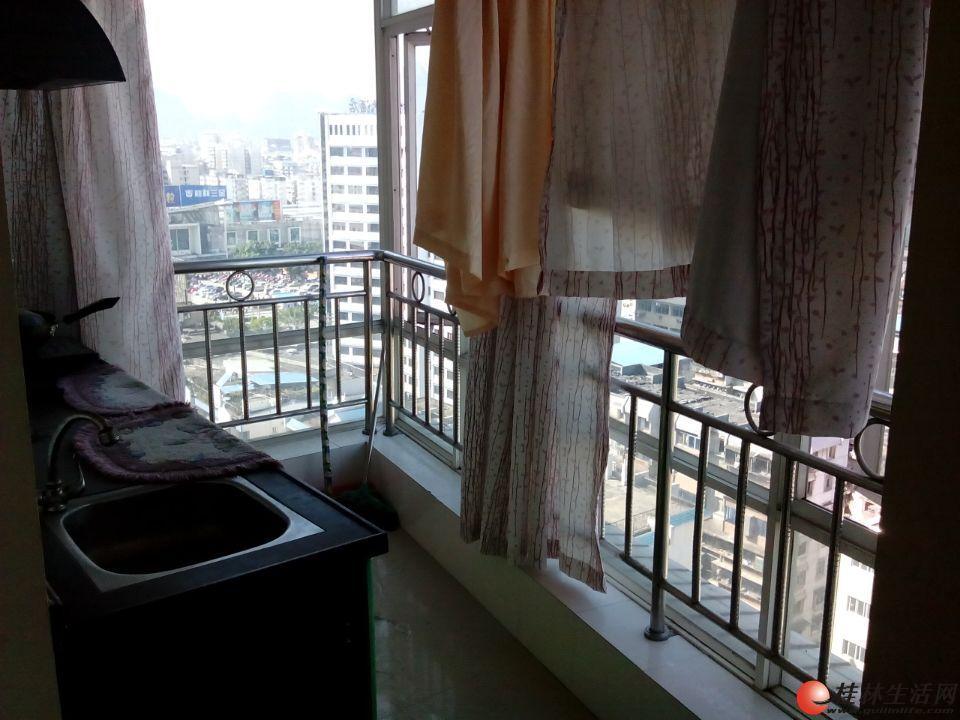 Q上海路| 枫丹丽苑 温馨1房 精装修 家具家电齐全 1300超值出租