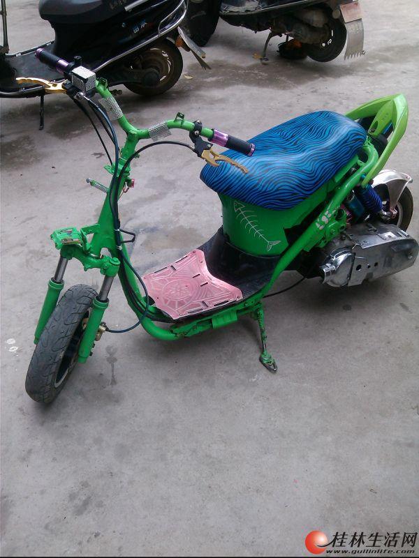 福喜鬼火踏板摩托车_gy6摩托车-5gy6摩托车 gy6摩托车电路图图片
