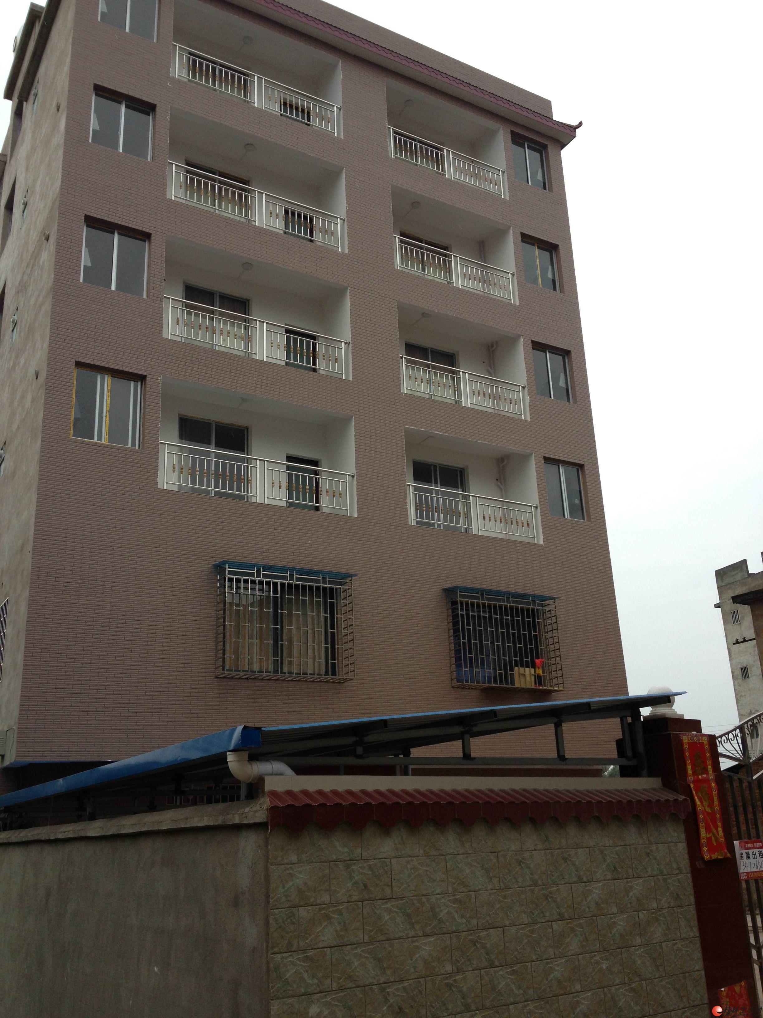 全新自建六层楼房招租!单间配套300-350元/间,一房一厅550元/套左右