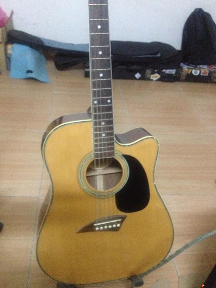 民谣41寸电箱吉他出售