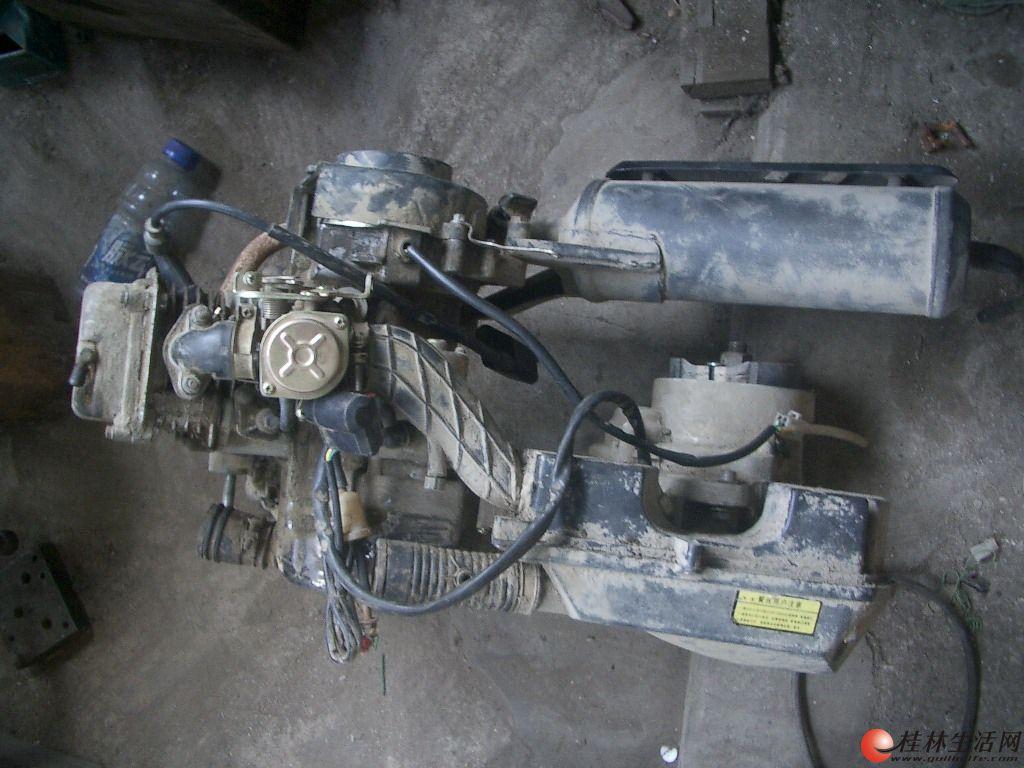 卖部我已搞不定的踏板车发动机有化油器排气管高压包等150元