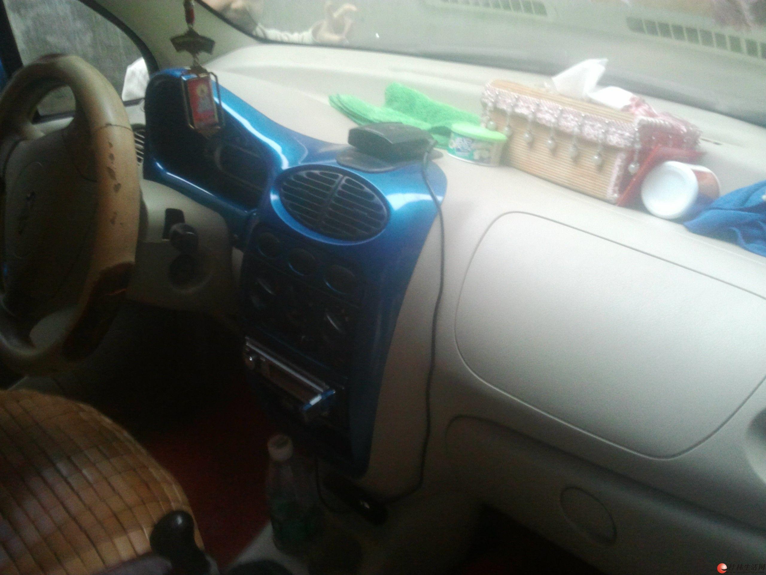 转让07年奇瑞qq1,1排量,兰色最高配的,或者换面包车 高清图片