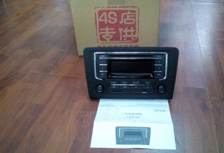 上海大众SVW拆车 车载cd机车载汽车收音机原装收放机4S店正品