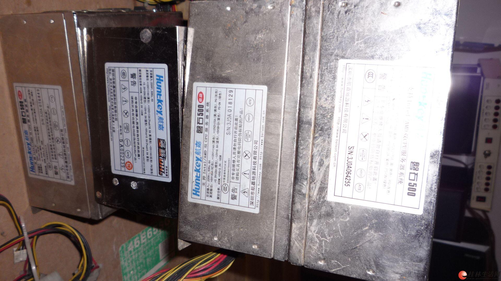 出售额定功率500W峰值功率650W的服务器电源