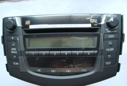 丰田RV4拆车 车载cd机车载汽车收音机原装收放机  4S店正品 出售