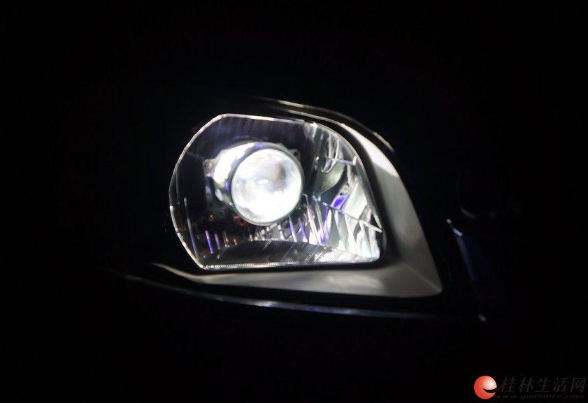 学弗兰乐风升级Q5透镜 桂林善待爱车专业改灯高清图片