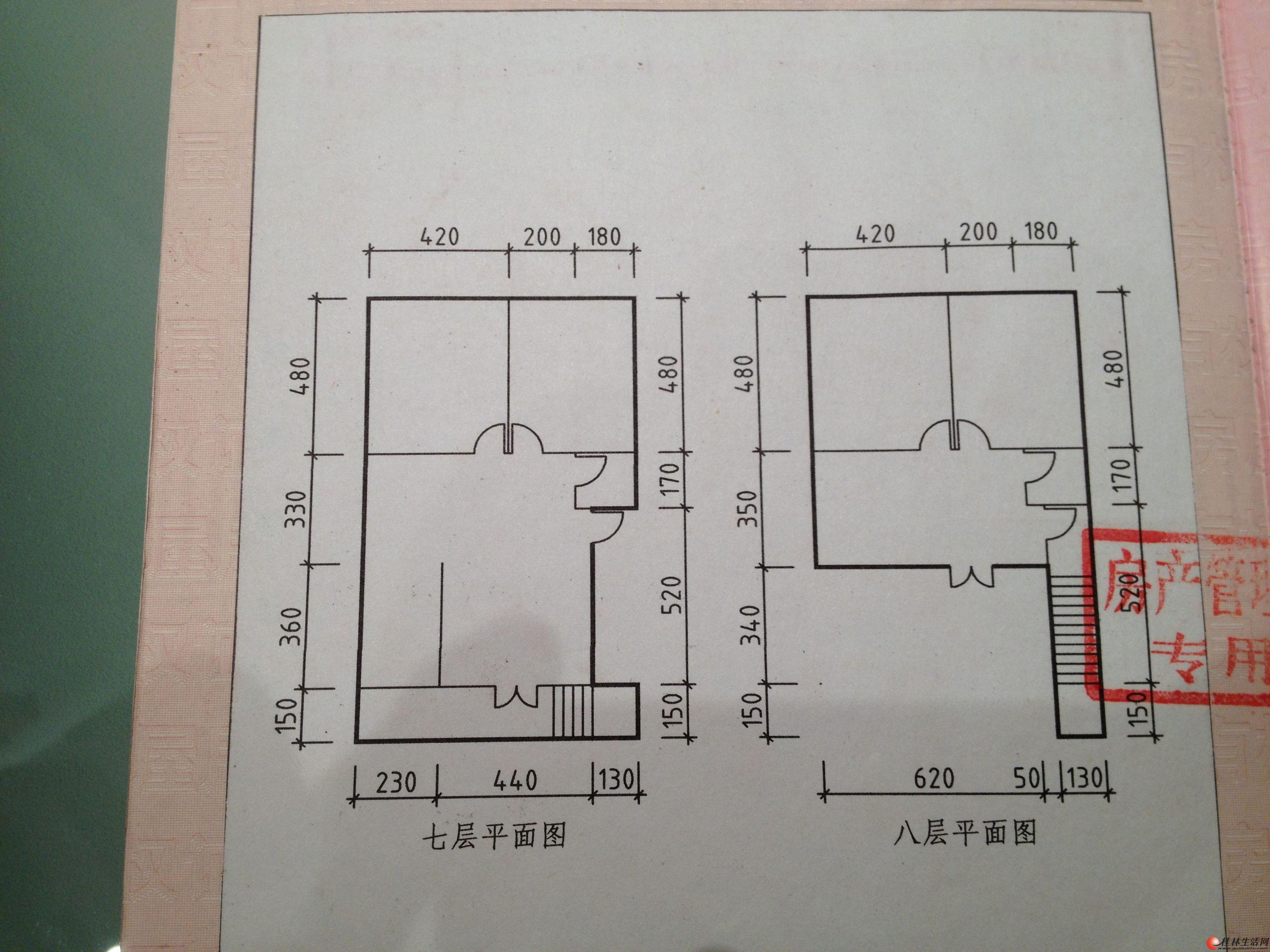 一百平復式樓設計圖紙展示