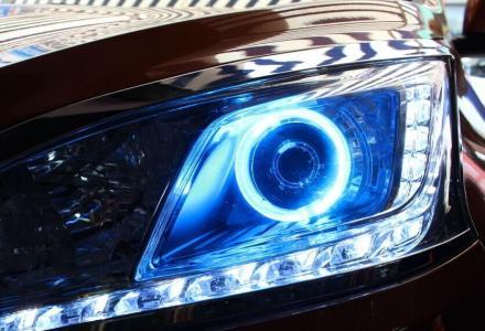 专业改装汽车双光透镜,天使眼,日行灯