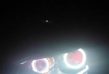 大众波罗升级奥迪Q5双光透镜、双天使眼、双恶魔眼、日行灯