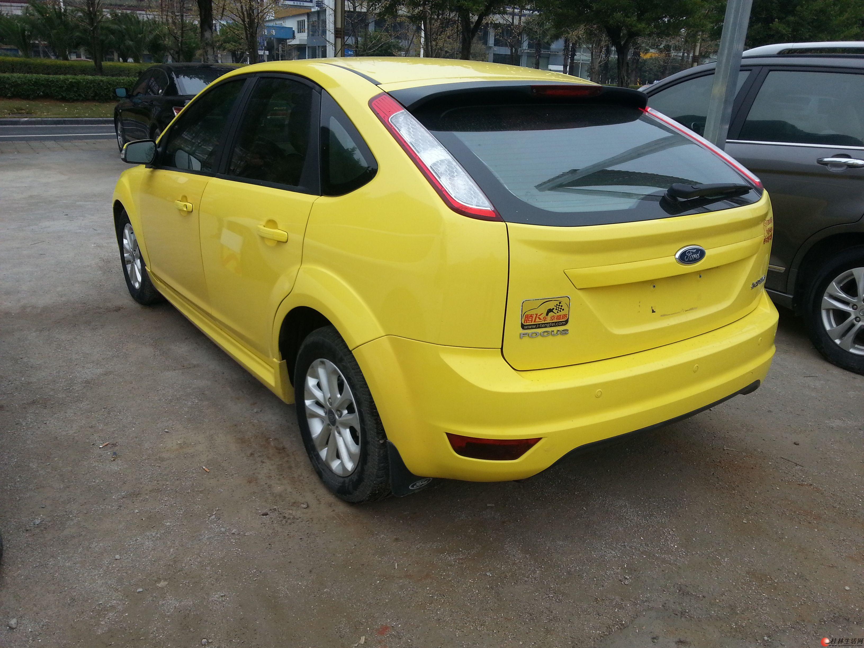 2012年的福特两厢福克斯轿车转让 13978396884高清图片