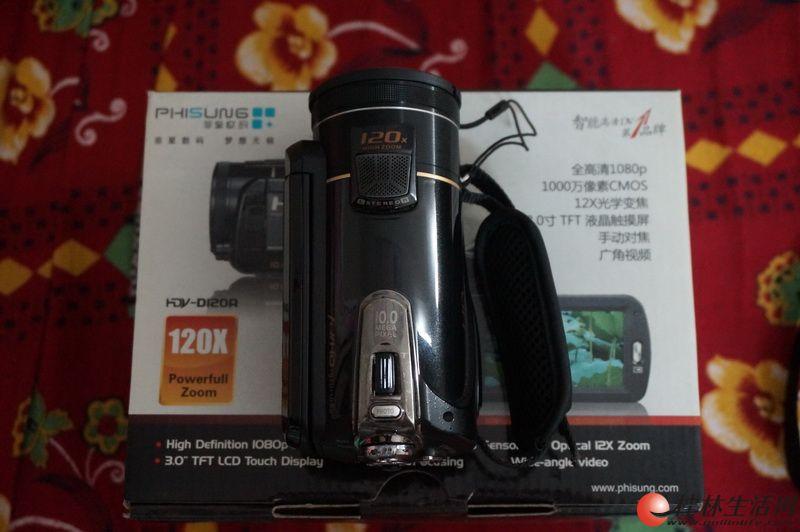 菲星1080P高清数码摄像机转让