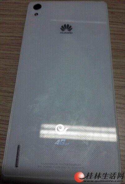 华为P7 电信 4G双卡手机
