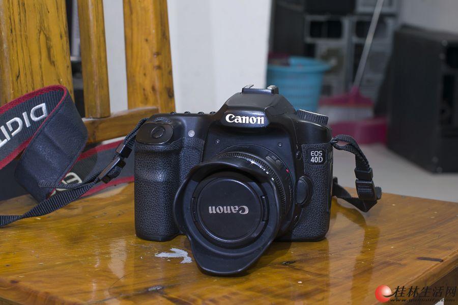 佳能单反相机 40D +17-85+50 1.8小痰盂2200元转让