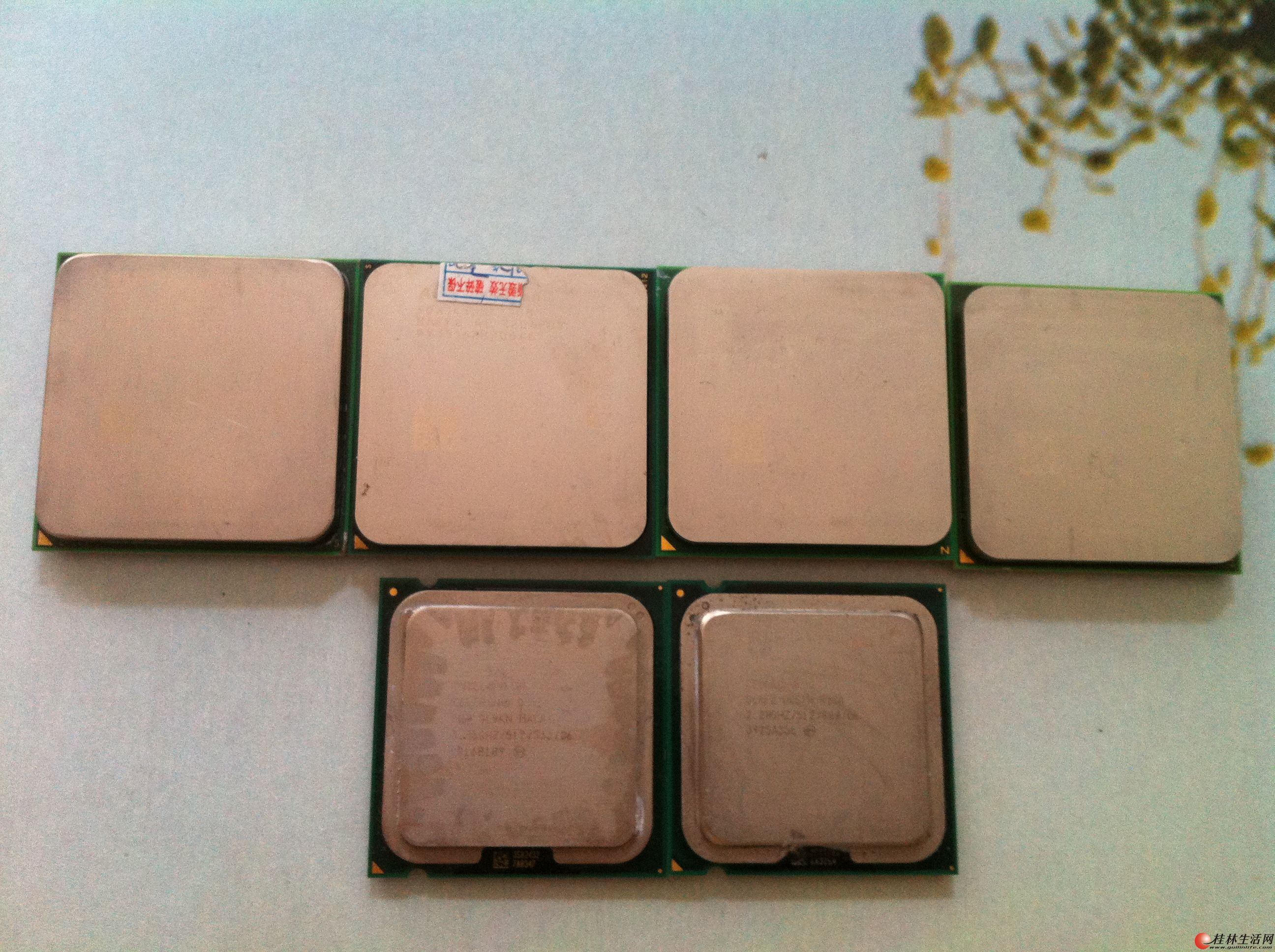 拆机主板、CPU 、电源......