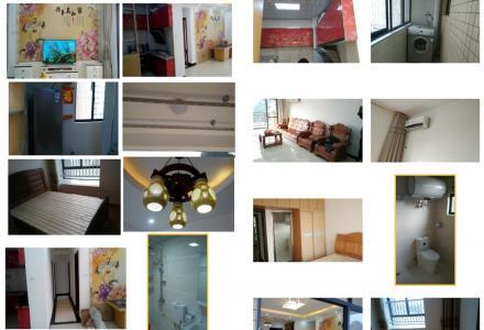 位于临桂区西城大道飞扬国际T2栋6层(共18层)有一套3室2厅2卫2阳台南北朝向115㎡住房