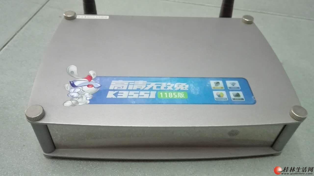 低价出闲置9成新开博尔K355i 硬盘播放器
