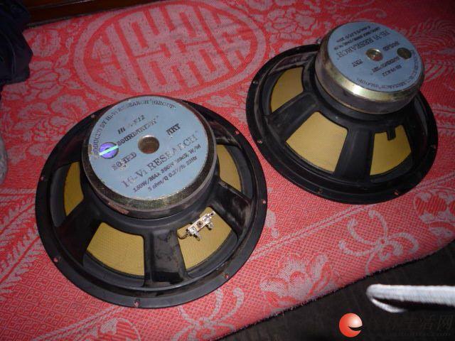 出售一对老惠威K12低重音喇叭