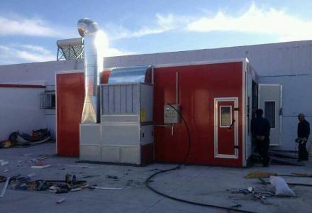 专业生产加工高档家具烤漆房.喷粉房 高档汽车烤漆房
