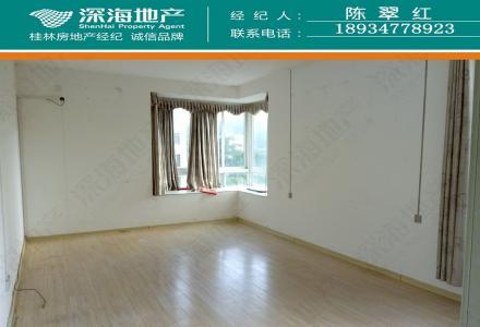 C七星区 漓江路财富名城 5房2厅2卫 简单装修 183平米 电梯房3楼 租3200元