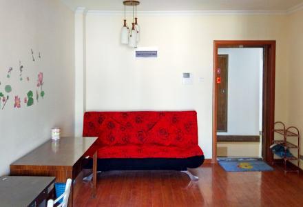 八里街哈佛中心公寓楼 师大附中旁 1室1厅加一大封闭阳台 60平方米+  精装修