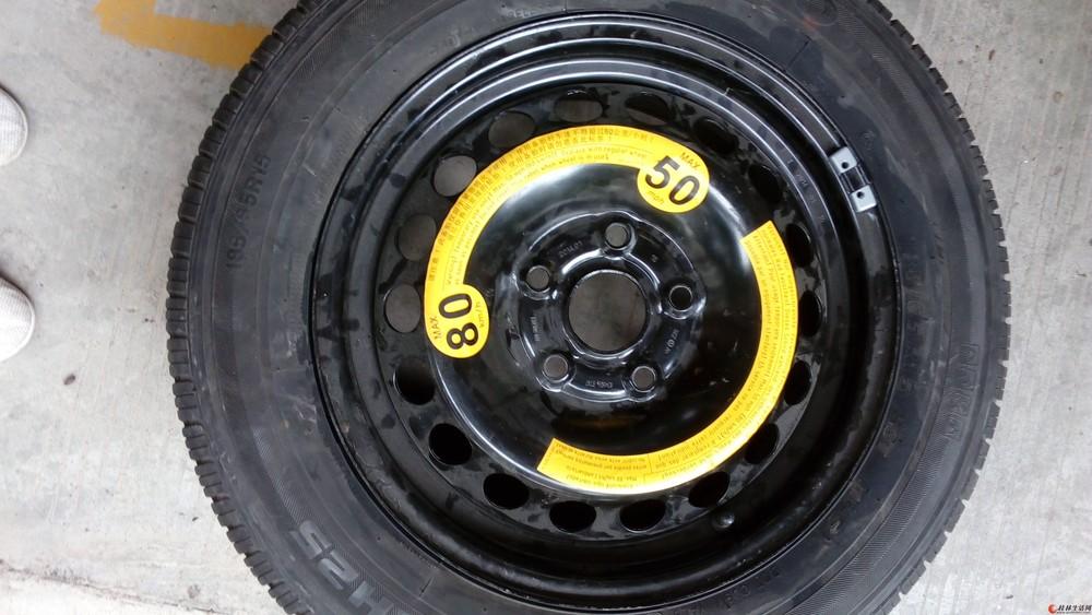 大众汽车R15胎钢毂圈和轮胎没有用了,给需要的兄弟。